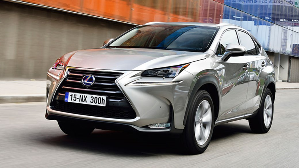 New 2014 Lexus NX 300h Hybrid Driven In The UK