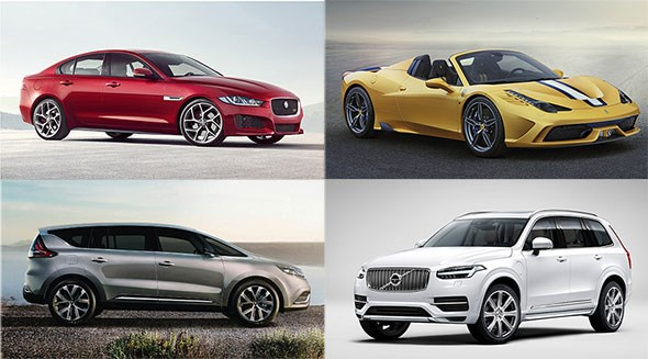 The best cars at the Paris motor show 2014