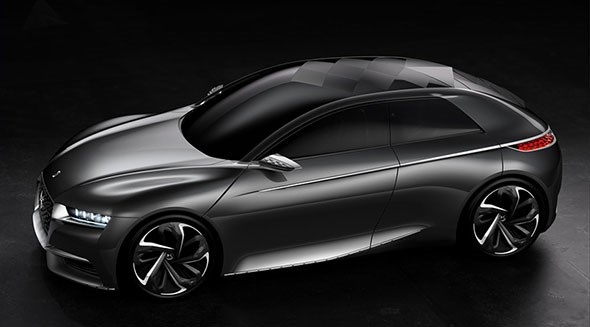 Citroen's Divine DS concept car: a sign the French are feeling confident again