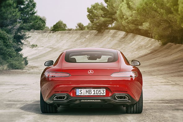 The Mercedes-AMG GT: another Paris motor show world debut