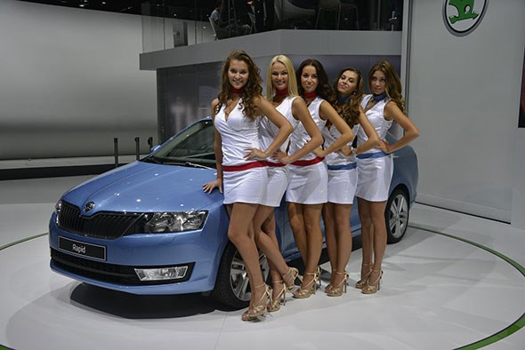Let's hope there's more fun and surprises at the 2014 Paris motor show