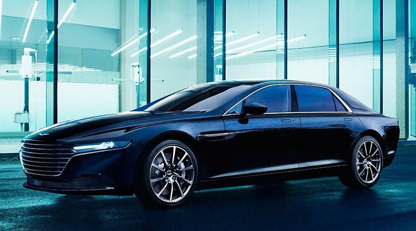 Aston Martin Lagonda Saloon 2015 Production Pictures And Interior