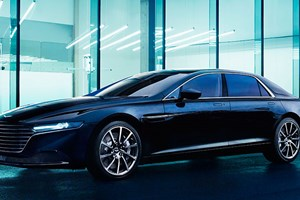 First official pictures of the production Aston Martin Lagonda saloon (2015)