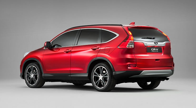 Honda CRV updates for 2015 first pictures by CAR Magazine