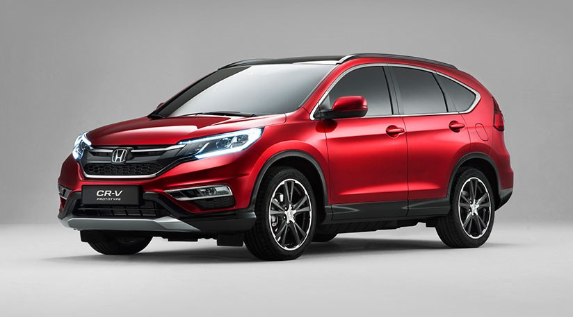 Honda Cr V Updates For 2015 First Pictures By Car Magazine