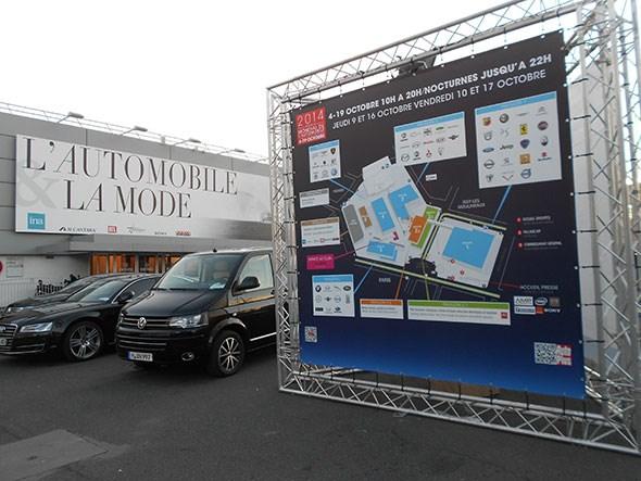 Paris motor show: pretty huge