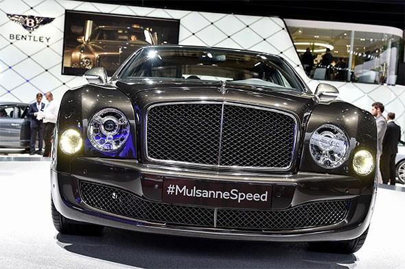 Bentley Mulsanne Speed at 2014 Paris motor show