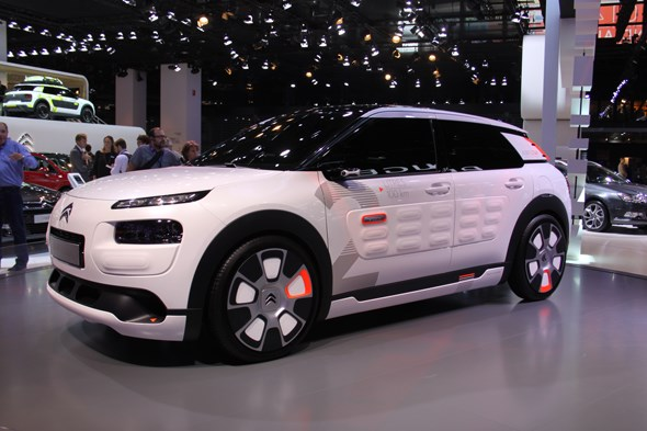 Citroen C4 Cactus Airflow 2L concept at Paris 2014