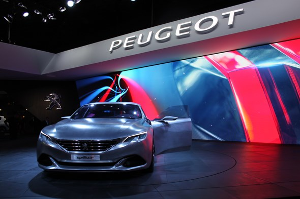 Peugeot Exalt at Paris motor show 2014