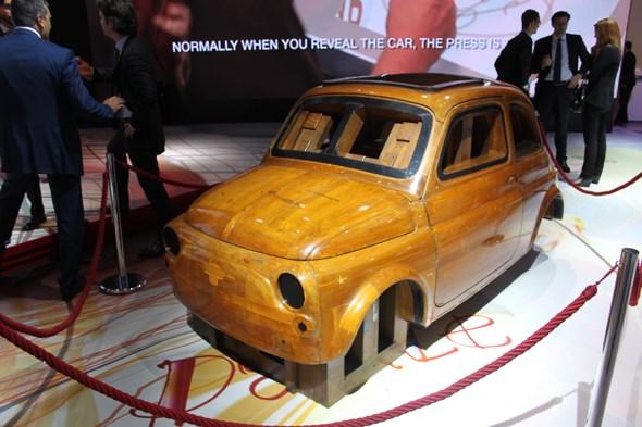 Original Fiat 500 styling buck