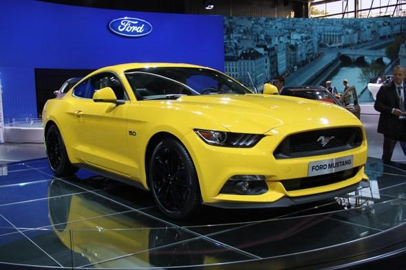 Ford Mustang at 2014 Paris motor show