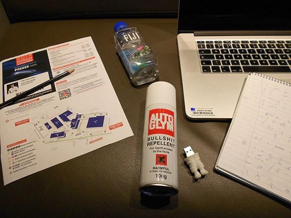 CAR magazine's journalist survival kit: the Paris motor show blog
