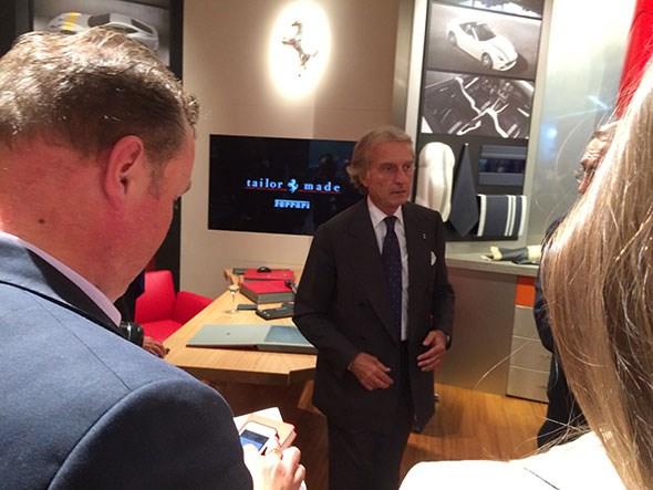 Luca di Montezemolo's last press conference as head of Ferrari took place at Paris 2014