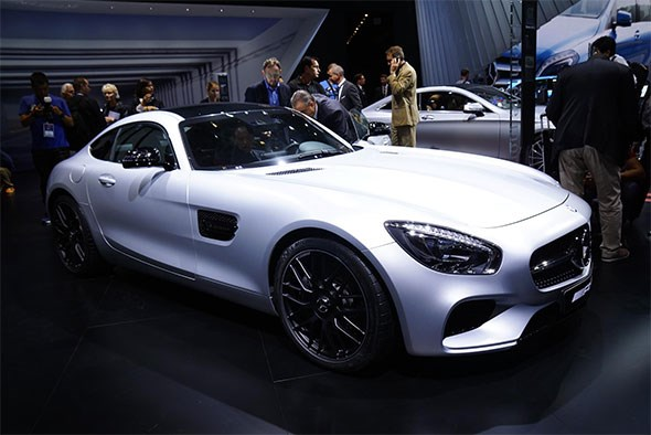 Mercedes-AMG GT at 2014 Paris motor show