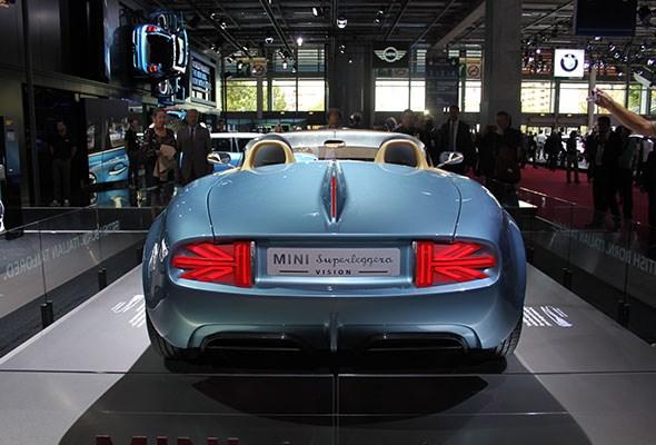 Mini Superleggera concept at Paris 2014