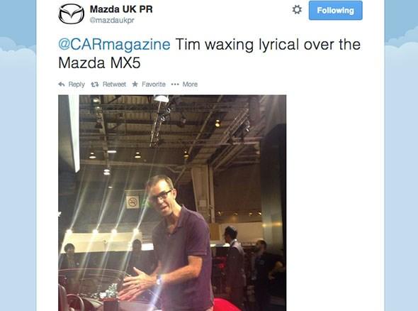 Tim Pollard and the Mazda MX-5
