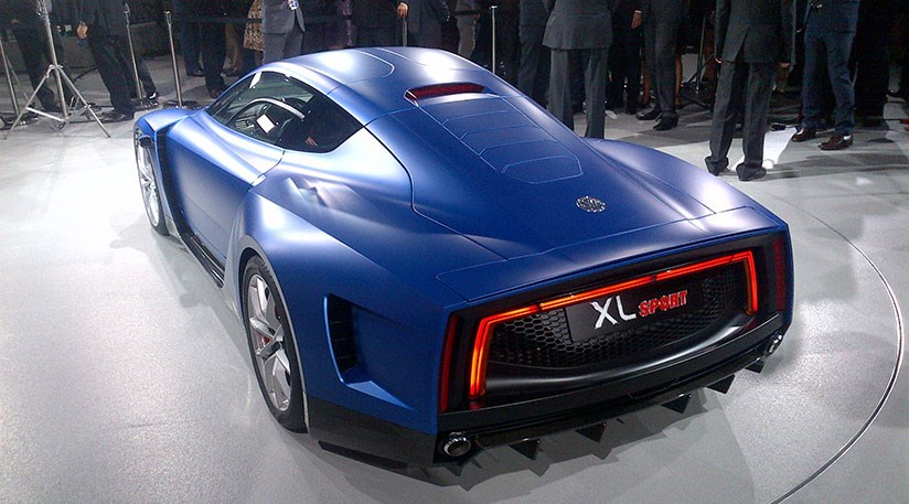 Vw Xl Sport Unveiled At Paris Motor Show 2014 Car Magazine