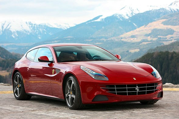 Ferrari FF: a new kind of Ferrari