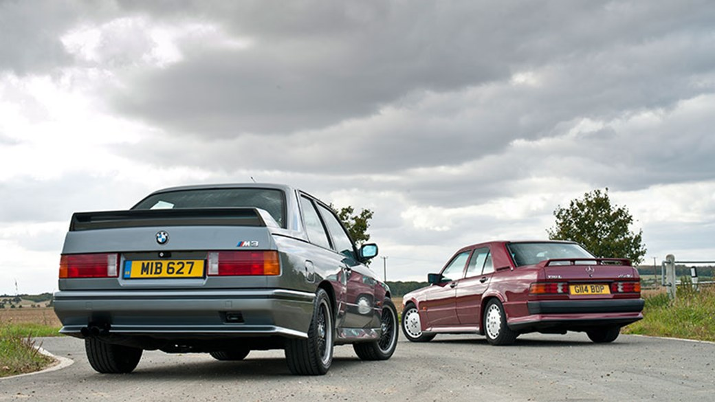 BMW M3 E30 vs Mercedes 190E 2 5-16 Cosworth | CAR Magazine