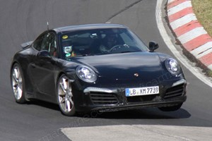 Porsche is readying a 991.2 generation update for the 911 range in 2015