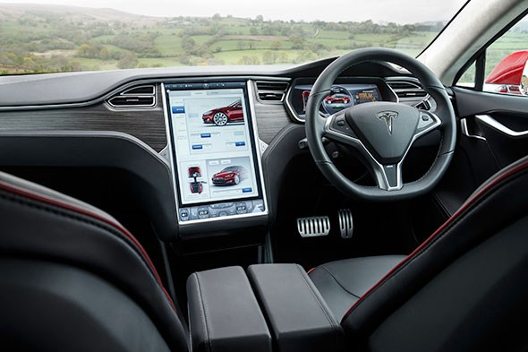 I've never liked touchscreens that much - but the Model S's is breathtaking