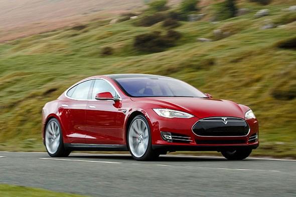 Tesle Model S is Car by Tech Company