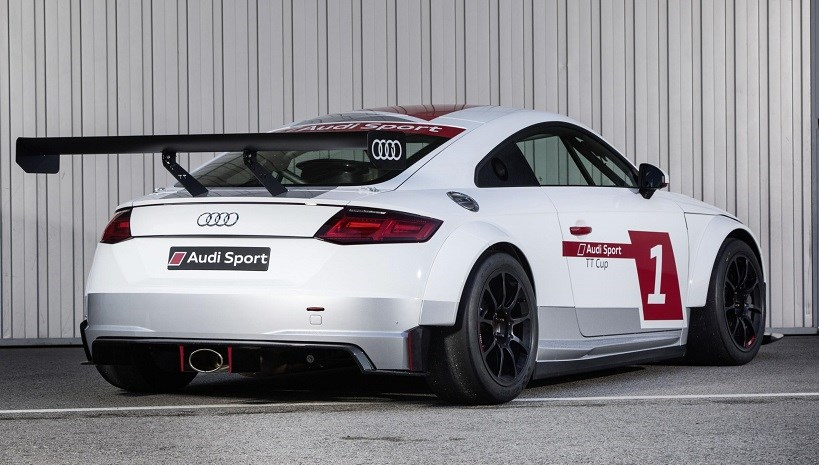 Audi Tt Sport Cup The Tt Goes Racing By Car Magazine