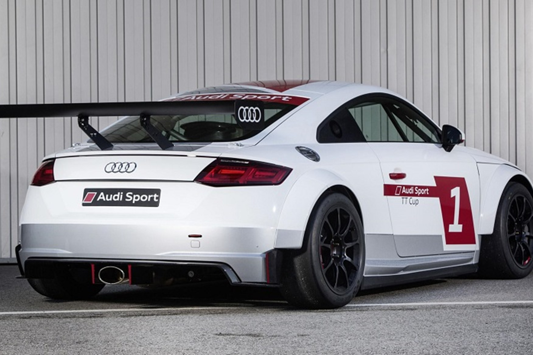 ... Caricature Rear Wing Makes The Audi TT Cup Car Look Like A DTM Refugee  ...