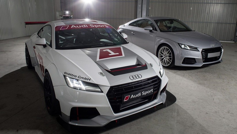 Tt Racer Is Largely Based On The Audi Tts Road Car