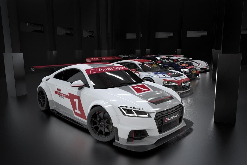 Audi Tt Race Car Engine