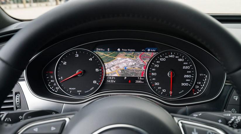 Audi A6 Avant Black Edition Interior