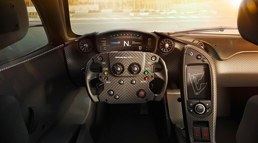 mclaren p1 gtr interior revealed by car magazine. Black Bedroom Furniture Sets. Home Design Ideas