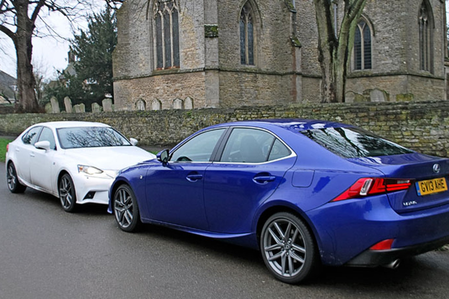Elegant ... Time To Introduce Our Lexus IS300h To Its Petrol Counterpart, The IS250  (blue Car) ...
