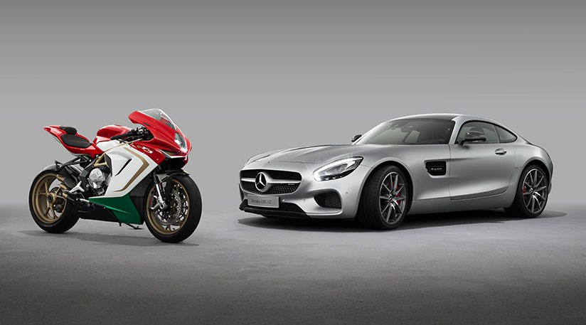 Mercedes amg buys 25 of bike firm mv agusta by car magazine for Mercedes benz maker