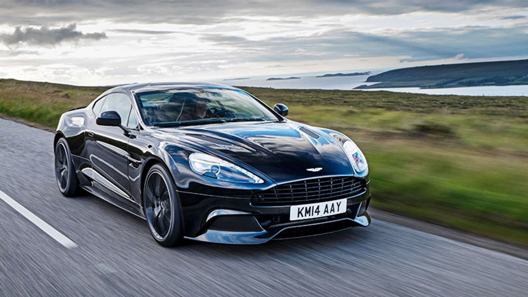 Ordinaire The 2015 Aston Martin Vanquish