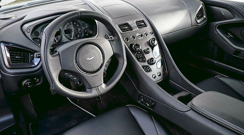 aston martin vanquish 2015 interior. cabin of the 2015 aston martin vanquish more in need cosmetic surgery than outside interior car magazine