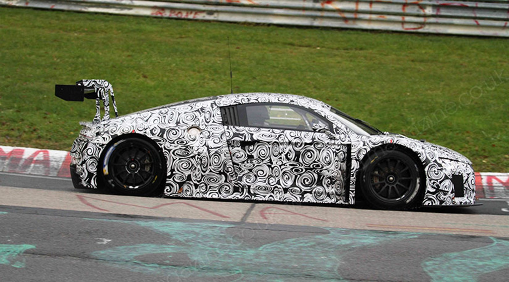 Audi R8 Gt3 Lms 2015 Spied On Test At The Ring By Car