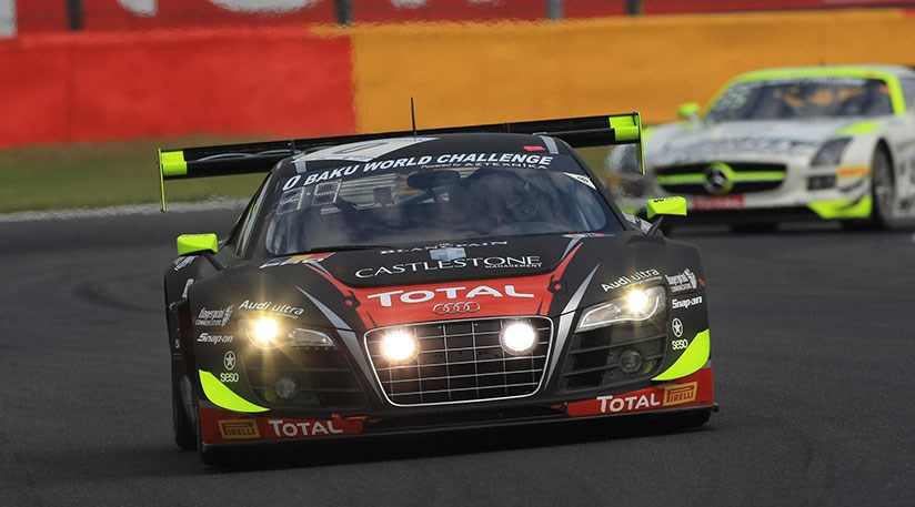 Audi r8 gt3 lms 2015 spied on test at the ring car magazine privateers driving the audi r8 lms ultra compete in the le mans series gt3 championship publicscrutiny Images