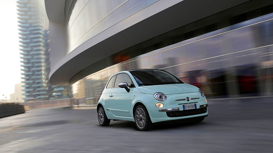 Fiat 500 colours 2015