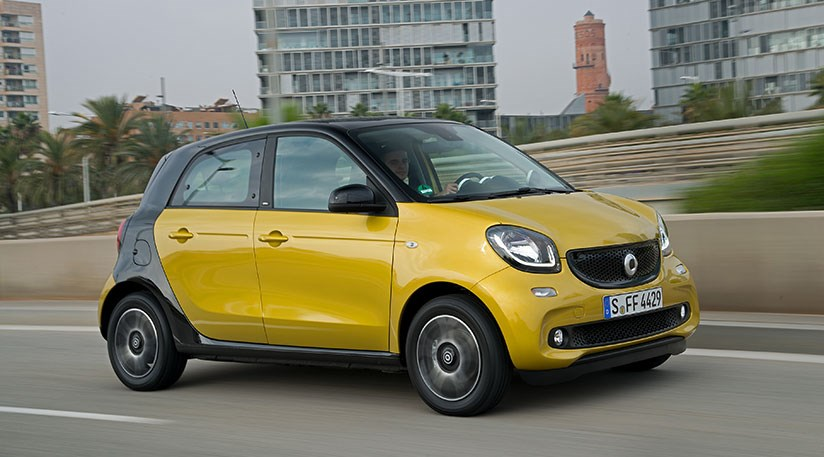 smart forfour to cost more than renault twingo car magazine. Black Bedroom Furniture Sets. Home Design Ideas