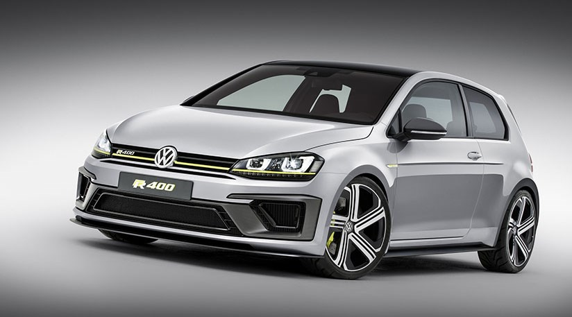 VW Golf R420 spy photos best look yet at 2016s superGolf GTI by