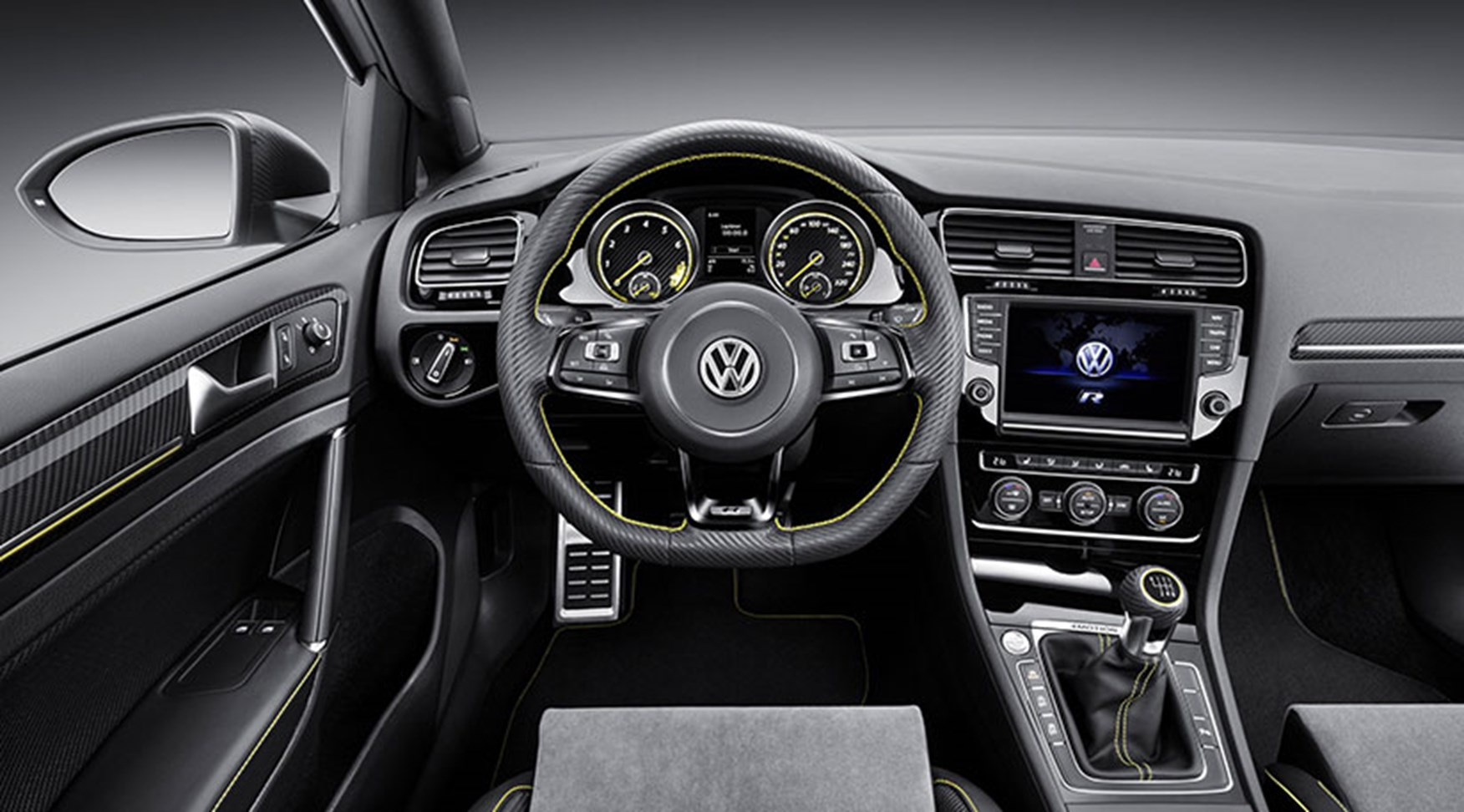 Auto cockpit vw  VW Golf R420 spy photos: best look yet at 2016's super-Golf GTI by ...