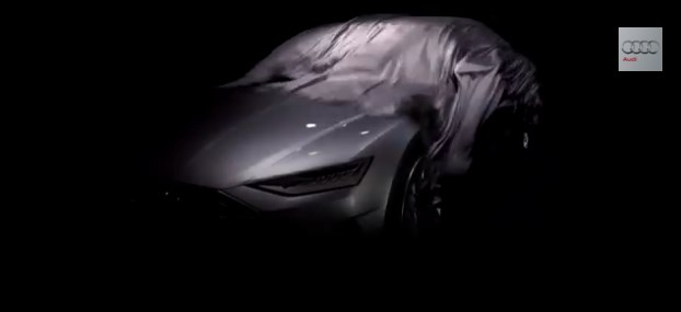 Audi's A9 concept car is teased ahed of LA