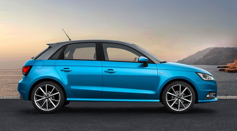 audi a1 and a1 sportback facelift 2015 revealed by car. Black Bedroom Furniture Sets. Home Design Ideas