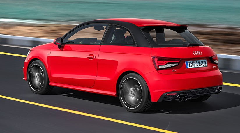 audi a1 and a1 sportback facelift 2015 revealed by car magazine. Black Bedroom Furniture Sets. Home Design Ideas