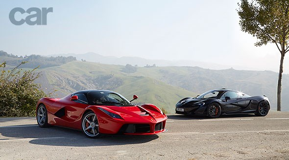 Two supercar legends, one twin test