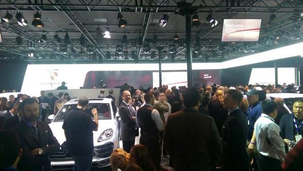 Porsche hall LA show 2014