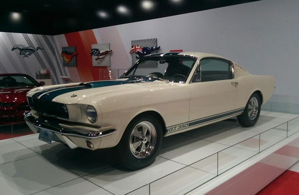 Original classic Ford Shelby Mustang GT350
