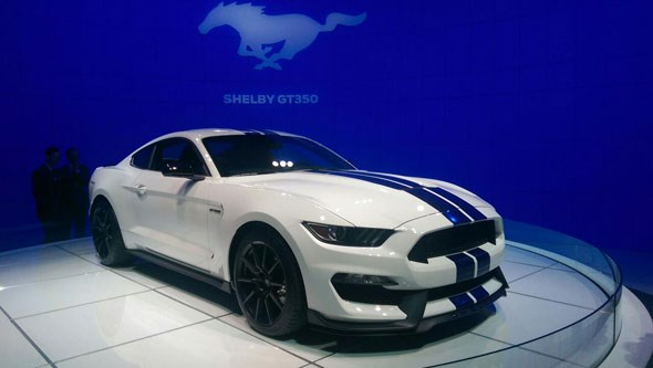 Ford Mustang GT350 LA show 2014
