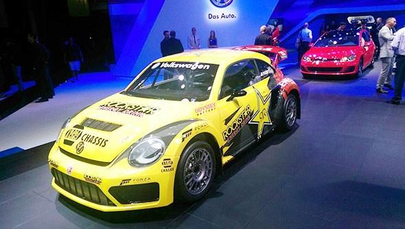 A proper rallycross VW Beetle. Yay!